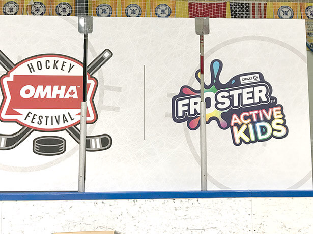 Froster Active Kids Rinkboards